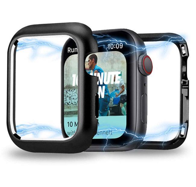 Металлический магнитный корпус Primo для Apple Watch 40 mm - Black