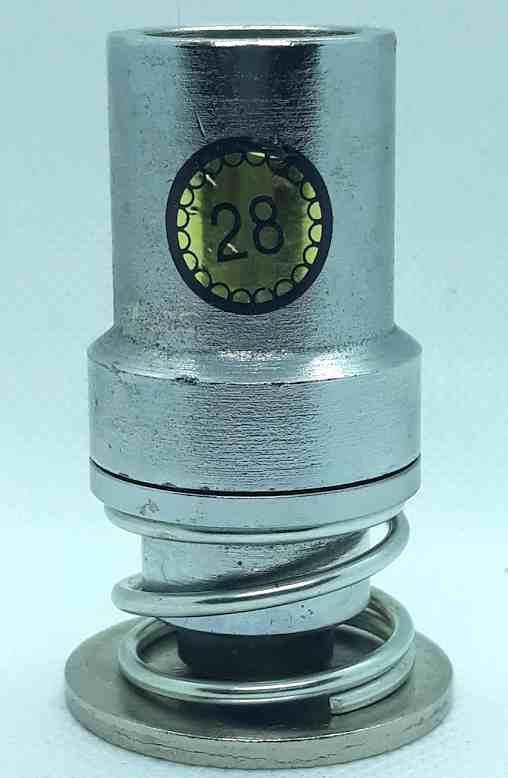 Насадка под обтяжку пуговицы № 28 (16 мм)