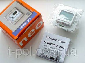 Программируемый терморегулятор теплого пола Terneo pro, фото 2