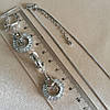 Брендовый набор украшений: кулон с сережками. 69, фото 6