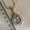 Брендовый набор украшений: кулон с сережками. 69, фото 7
