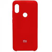 Чехол Silicone Cover для Xiaomi Redmi Note 6 Pro (Red)