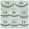 """Бордовые комплекты бижутерии """"Бижутерия оптом RRR"""" класса """"люкс"""". 347, фото 2"""