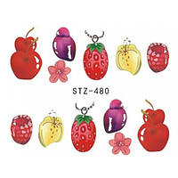 Слайдер-дизайн для ногтей водный STZ-480