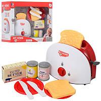 Детская кухонная бытовая техника - игрушка Тостер с продуктами, 3227