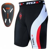 Шорты MMA компрессионные RDX с ракушкой Carbon New, фото 1