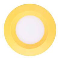 Светодиодный светильник встраиваемый светильник Feron AL525 3w  жёлтый
