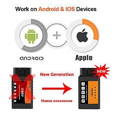 Діагностичний автосканер FOXWELL FW601 OBD2 ELM327 v1.5 WiFi для Android, iOS, iPhone, фото 3