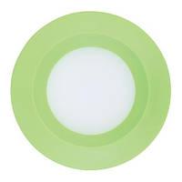 Светодиодный светильник встраиваемый светильник Feron AL525 3w  зелёный, фото 1
