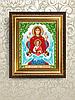 Схема для вышивки бисером Икона Знамение