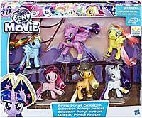 Мой маленький пони Набор из 6 фигурок серия пираты My Little Pony the Movie Pirate Ponies