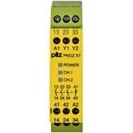 774300 Реле безпеки PILZ PNOZ X1 24VAC/DC 3n/o 1n/c