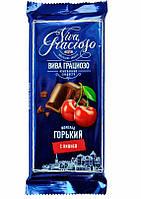 Шоколад горький с вишней КФ Спартак  90гр