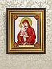 Схема для вышивки бисером Икона Почаевская