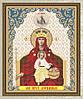 Схема для вышивки бисером Образ Пресвятой Богородицы Державная