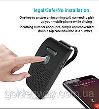 Громкая связь Bluetooth / Свободные руки / Bluetooth  Hands free гарнитура с двумя видами крепления черная
