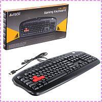 Клавиатура A4tech KB-28G-1 Multimedia, USB, Game Master K/b, 12 'горячих клавиш', Black colour