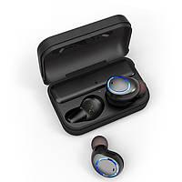 Бездротові навушники AWEI T3 Bluetooth навушники вкладиші Чорний (SUN3016), фото 1