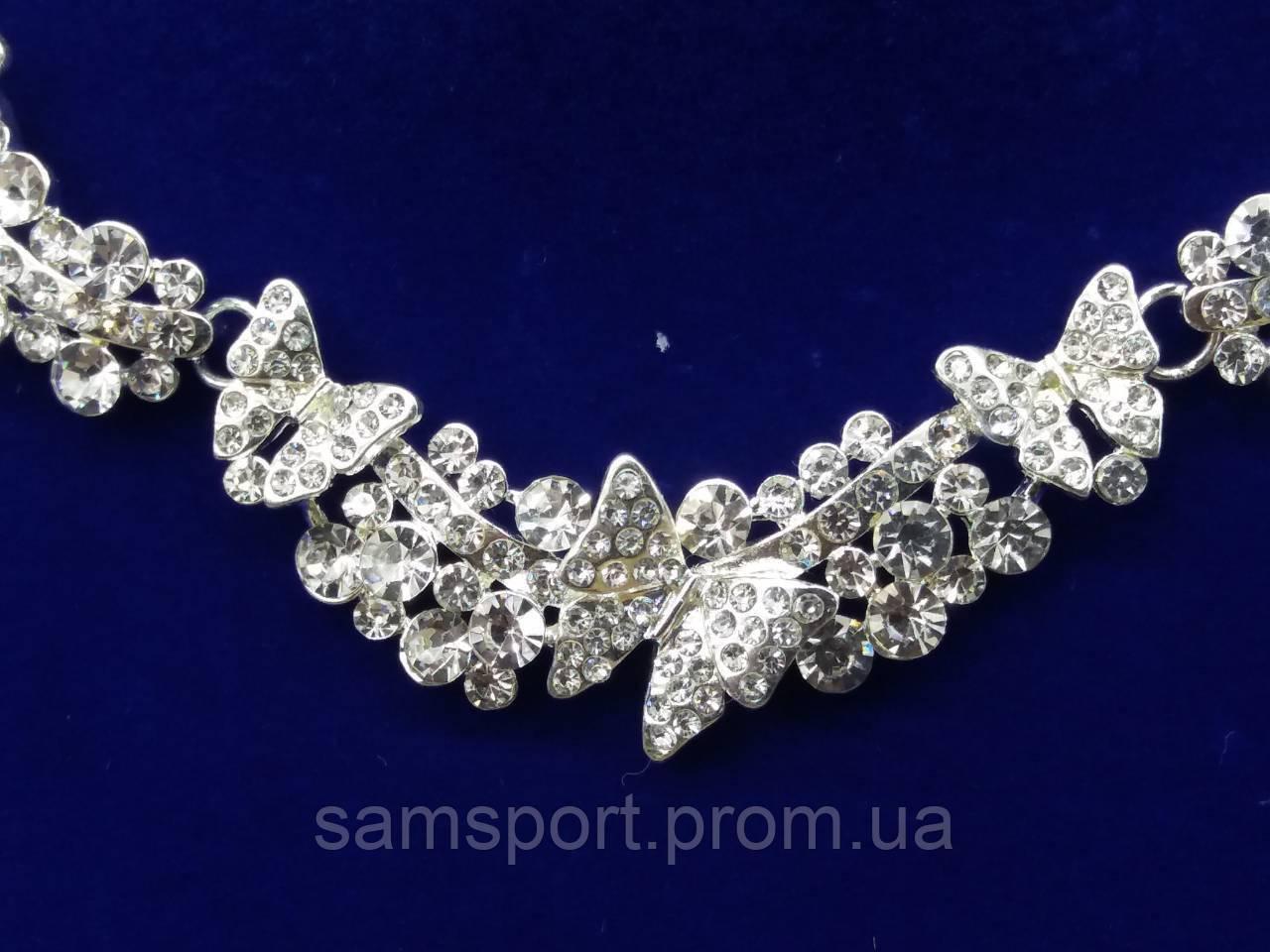 221 Нежные свадебные комплекты, бижутерия оптом. Торжественная бижутерия в Украине оптом