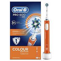 Електрична зубна щітка Braun Oral-B Pro 600 Colour Edition ORANGE 15e541db110f6
