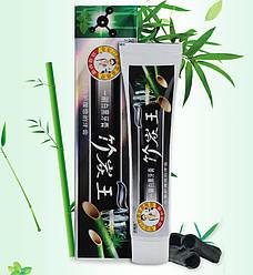 Зубна паста турмалиновая з бамбуковим вугіллям. (чорна)160 гр.