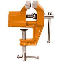 Тиски, 75 мм, крепление для стола. SPARTA 185115