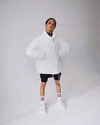 """Оригинальная женская куртка Оверсайз """"White"""""""