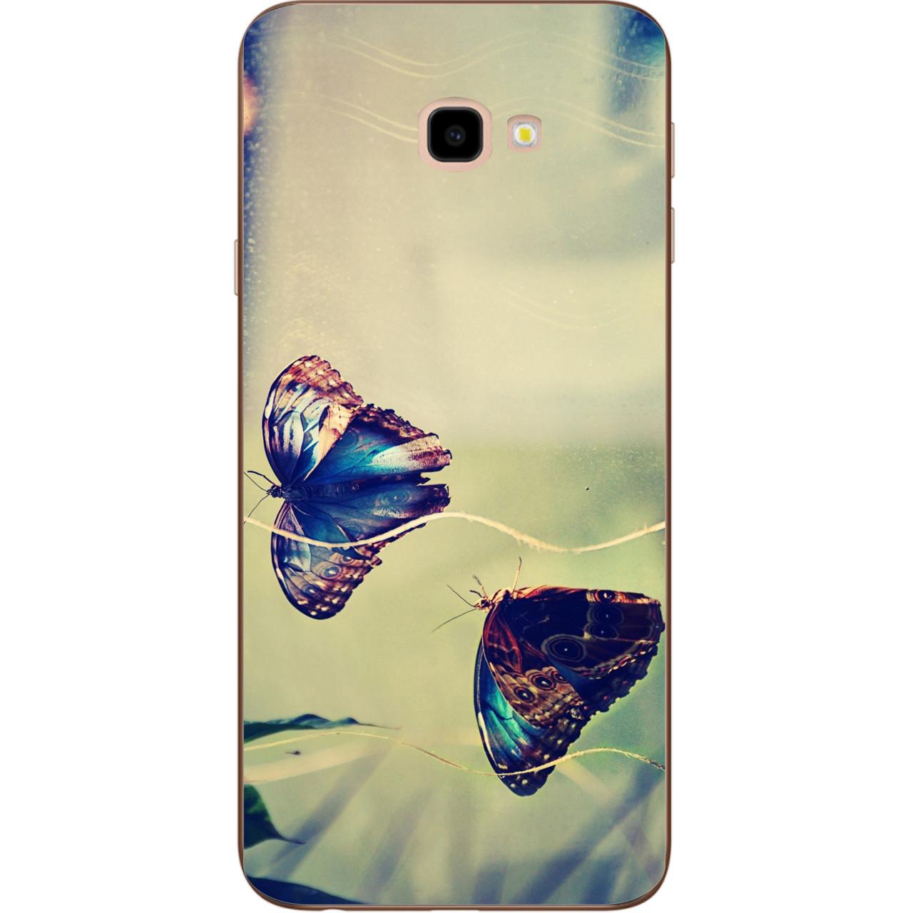 Чехол с картинкой Две бабочки для Samsung J2 Core J260 Galaxy 2018