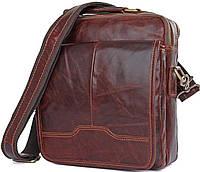 Сумка Vintage 14550 из натуральной кожи Коричневая, фото 1
