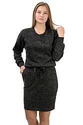 """Молодіжне повсякденне плаття """"Milana"""",чорний , розмір М-XXL"""