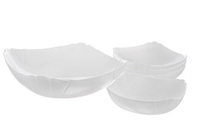 Набор квадратных салатников Luminarc Lotusia 5 шт (J3189)