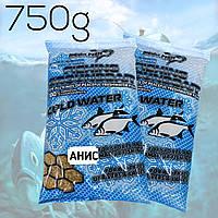 Зимние прикормки для рыбалки MEGA FISH. FISHING GROUNDBAIT WINTER 750гр. АНИС