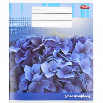 Тетрадь цветная 48 листов, клетка «Цветочная тетрадь»           16 штук                      2381к, фото 2