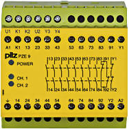 774148 Реле безпеки PILZ PZE 9 230-240VAC 8n/o 1n/c, фото 2