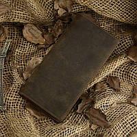 Бумажник мужской Vintage 14228 винтажная кожа Коричневый, фото 1
