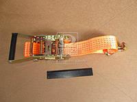 Стяжка груза (DK-3944) 5t (трещотка пластик. ручка, лента 50mm.x0.5m., крюк) <ДК>