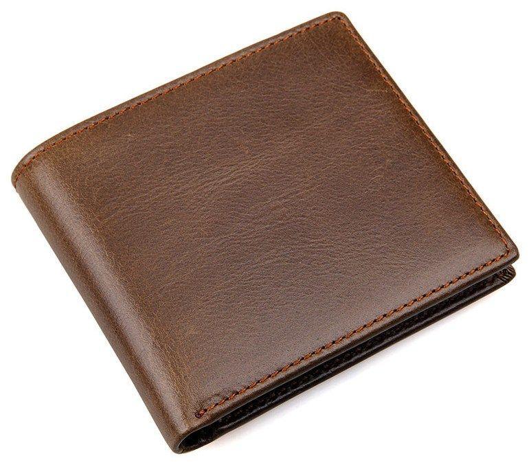 Кошелек мужской Vintage 14428 Коричневый
