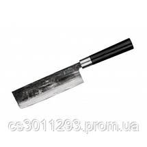 """Набор из 3-х кухонных ножей (универсальный, Накири, Сантоку) Samura """"Super 5"""" (SP5-0220), фото 3"""