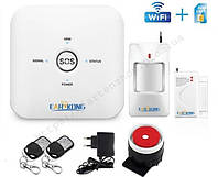 Комплект WiFi и GSM сигнализации Alarm W10G