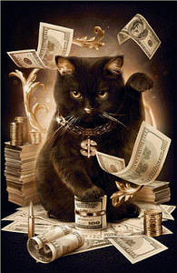 Наборы алмазной вышивки - коты и котята