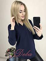 Блузка длинный рукав   (50-56)
