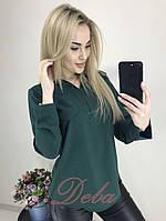 Блузка длинный рукав  (42-48)