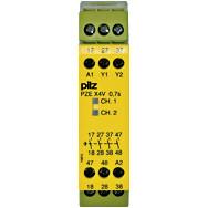 774586 Реле безпеки PILZ PZE X4V 0,7/24VDC 4n/o fix