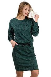 """Молодіжне повсякденне плаття """"Milana"""",пляшка, розміри М-XXL"""