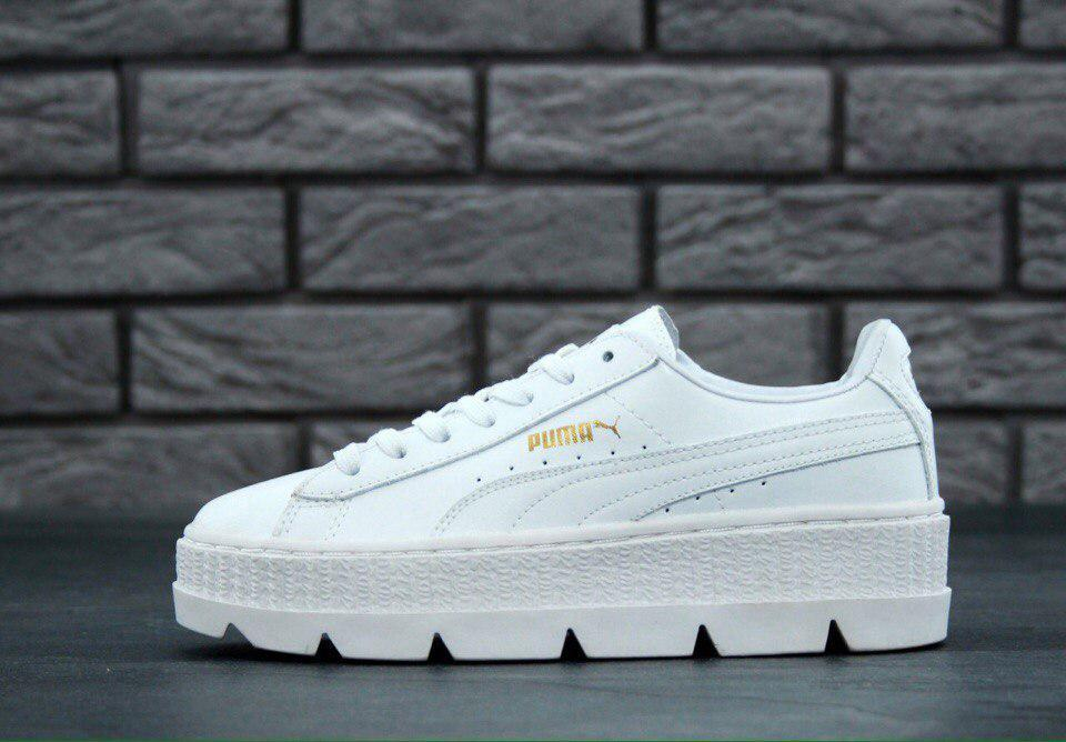 newest 5998c aa9a2 Кроссовки Puma x Fenty Creepers Cleated x White