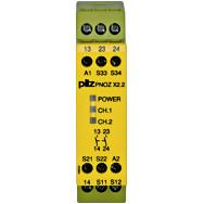 774607 Реле безпеки PILZ PNOZ X2.2 24VAC/DC 2n/o
