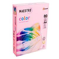 Бумага А4 Maestro Color  Neon Pink розовый