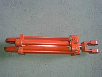 Гидроцилиндр ЦС-75х200-2 с двумя пальцами и упором