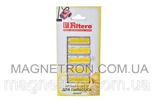 Ароматизатор для пылесоса Filtero 802 лимон, фото 2