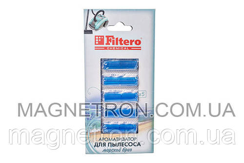 Ароматизатор для пылесоса Filtero 803 морской бриз